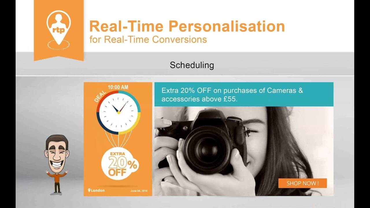 Real Time Personalisation (RTP) for Real-time Conversations