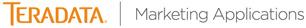 Tera Data Marketing Application